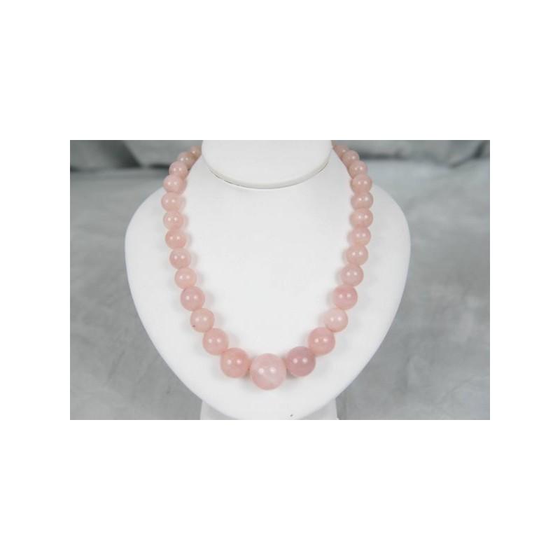 Luxusní náhrdelník z růženínu