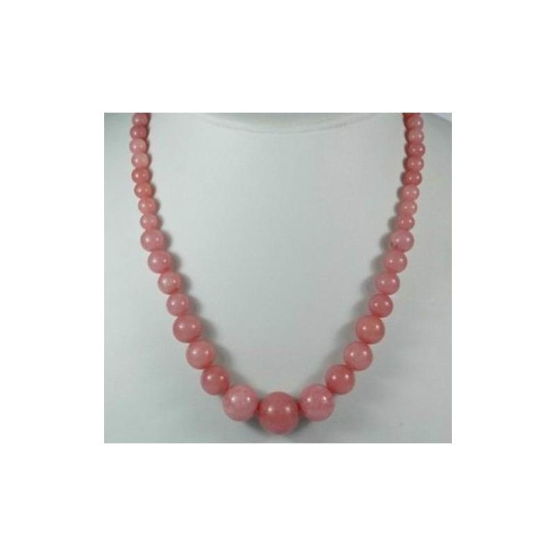 Luxusní náhrdelník z morganitu
