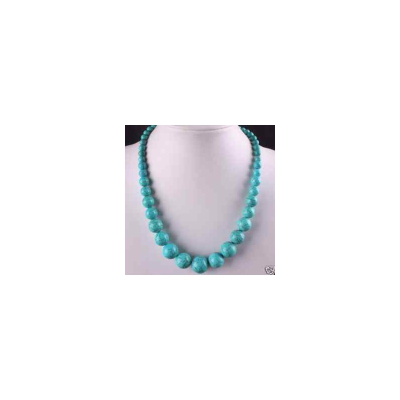 Luxusní náhrdelník z tyrkenitu