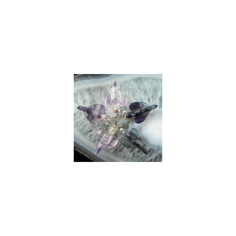 Přívěsek Anděl fluorit
