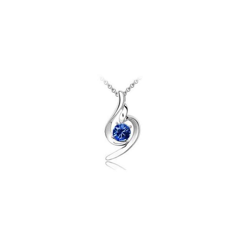 Přívěšek Andělská slza (modrá barva)