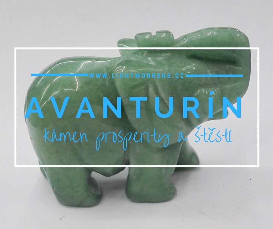 Avanturín – nenápadný kámen prosperity a štěstí