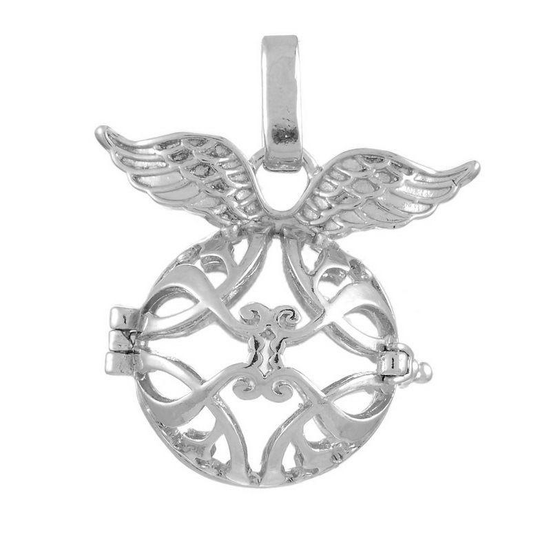 Andělský zvonek / Bola s křídly magenta