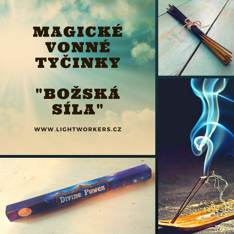 Magické vonné tyčinky Božská síla